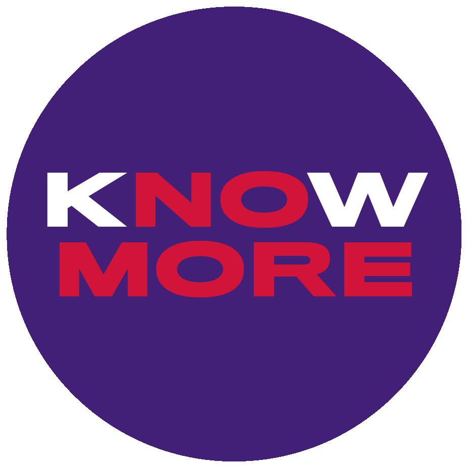 Know More/No More icon